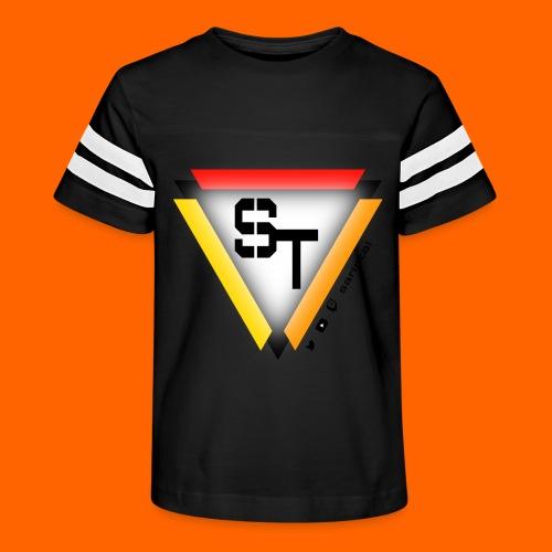 SarinTal Logo - Kid's Vintage Sport T-Shirt