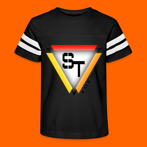 SarinTal Logo - Kid's Vintage Sports T-Shirt