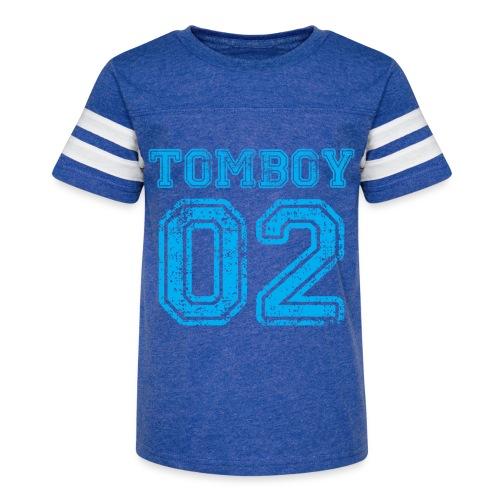 Tomboy02 png - Kid's Vintage Sport T-Shirt