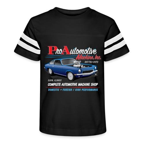 ProAutoTeeDesign062317fin - Kid's Vintage Sport T-Shirt