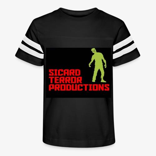 Sicard Terror Productions Merchandise - Kid's Vintage Sport T-Shirt