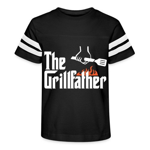 The Grillfather - Kid's Vintage Sport T-Shirt