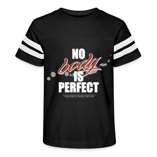 No body is perfect - Kid's Vintage Sport T-Shirt