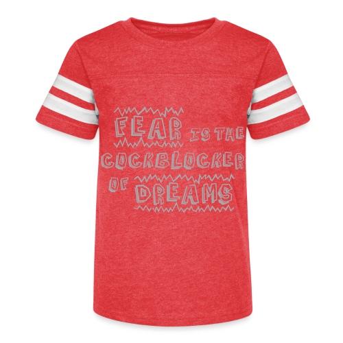 Fear Dreams - Kid's Vintage Sport T-Shirt