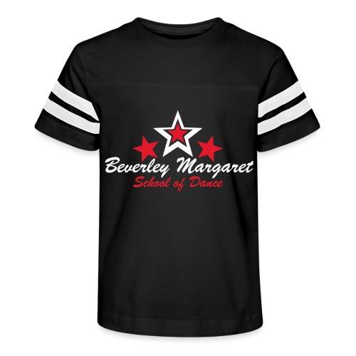 on black teen adult - Kid's Vintage Sport T-Shirt