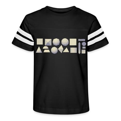 Anyland shapes - Kid's Vintage Sport T-Shirt