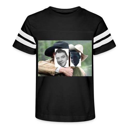 Darien and Curtis Camping Buddies - Kid's Vintage Sport T-Shirt