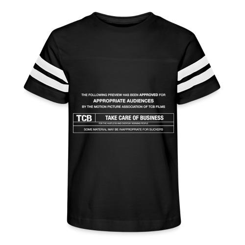 TCB Films Disclamer - Kid's Vintage Sport T-Shirt