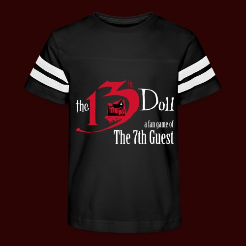 The 13th Doll Logo - Kid's Vintage Sport T-Shirt