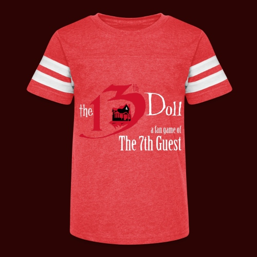 The 13th Doll Logo - Kid's Vintage Sport T-Shirt