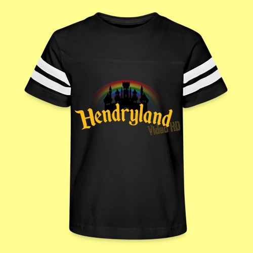 HENDRYLAND logo Merch - Kid's Vintage Sport T-Shirt