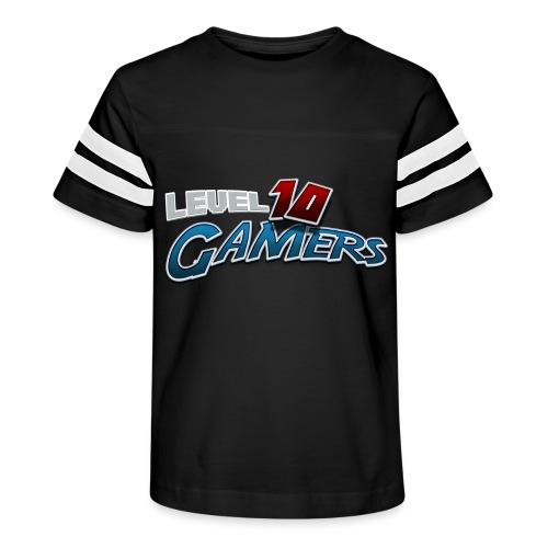 Level10Gamers Logo - Kid's Vintage Sports T-Shirt