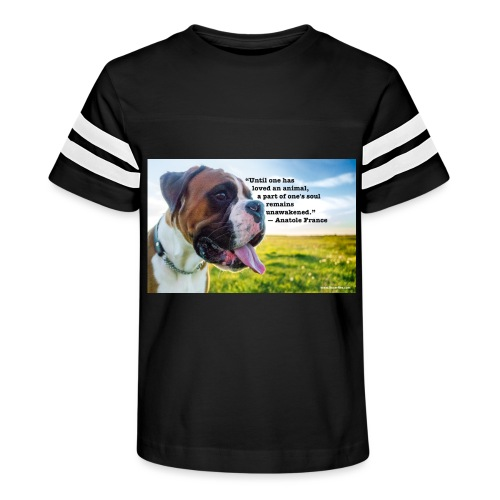Until one has loved an animal - Kid's Vintage Sport T-Shirt