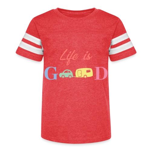 Life Is Good - Kid's Vintage Sport T-Shirt