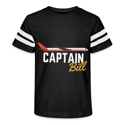Captain Bill Avaition products - Kid's Vintage Sport T-Shirt