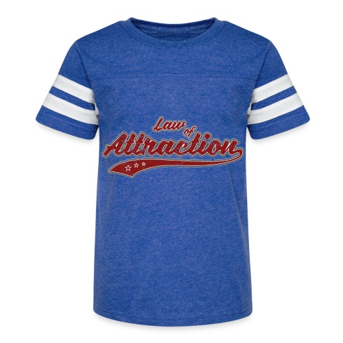 Law of Attraction (retro Color) - Kid's Vintage Sport T-Shirt