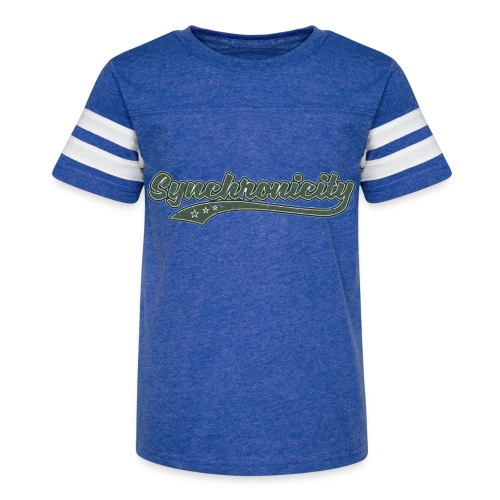 Synchronicity (Retro Color) - Kid's Vintage Sport T-Shirt