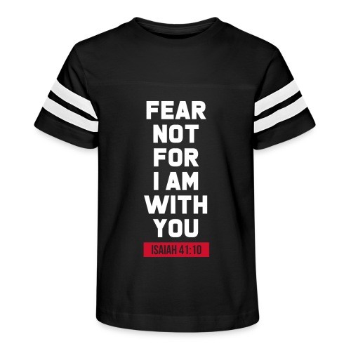 Fear not for I am with you Isaiah Bible verse - Kid's Vintage Sport T-Shirt