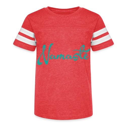 Namaste Script - Kid's Vintage Sport T-Shirt