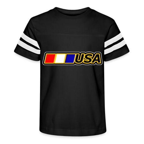 USA - Kid's Vintage Sport T-Shirt