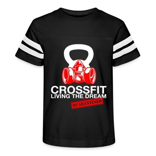 CROSSFIT LTQD - WHITE - Kid's Vintage Sport T-Shirt