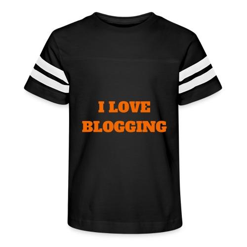 iloveblogging - Kid's Vintage Sport T-Shirt