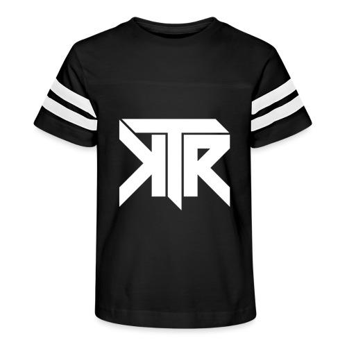 KTR Logo White - Kid's Vintage Sport T-Shirt