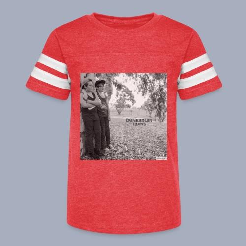 dunkerley twins - Kid's Vintage Sport T-Shirt