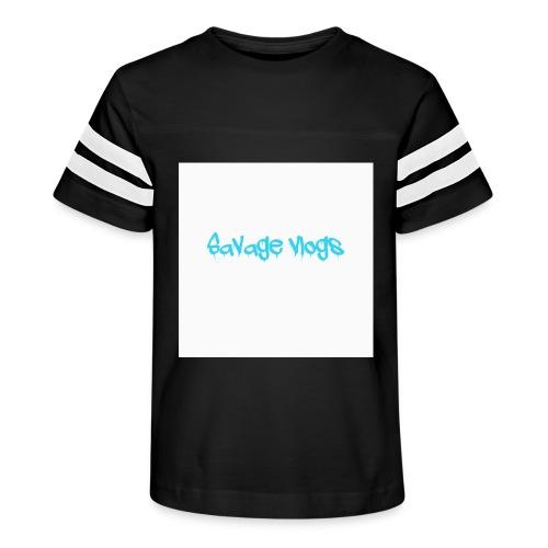 BBE7B1B4 6044 42AF A152 48208328D2C8 - Kid's Vintage Sport T-Shirt