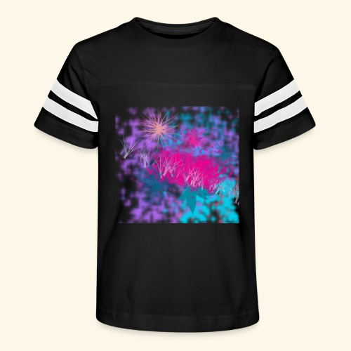 Abstract - Kid's Vintage Sport T-Shirt