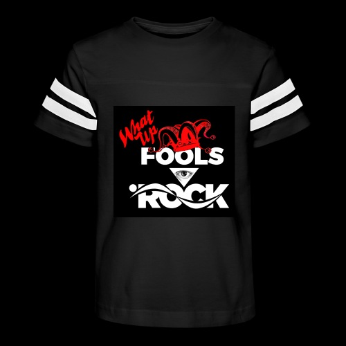 Fool design - Kid's Vintage Sport T-Shirt