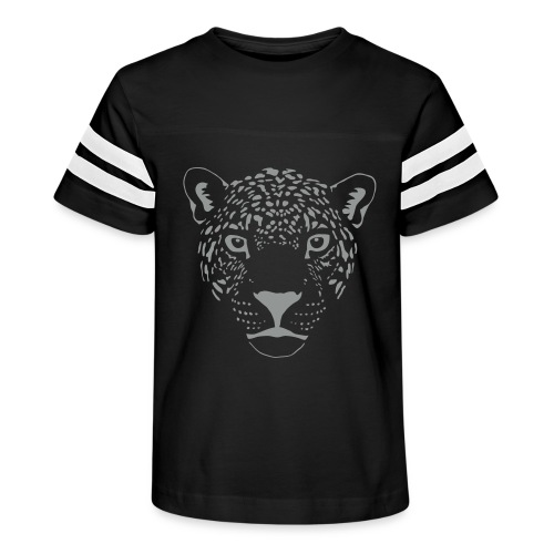 jaguar cougar cat puma panther leopard cheetah - Kid's Vintage Sport T-Shirt