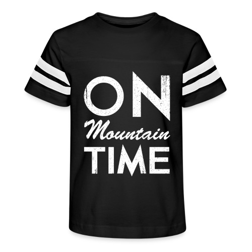 On Mountain Time - Kid's Vintage Sport T-Shirt