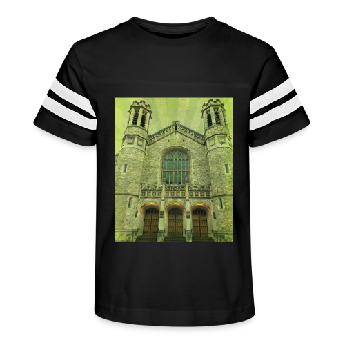 Green gothic cathedral - Kid's Vintage Sport T-Shirt