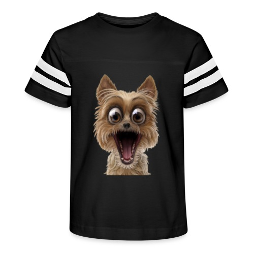 Dog puppy pet surprise pet - Kid's Vintage Sports T-Shirt