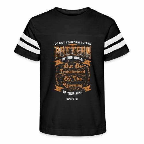 Bible Pattern - Kid's Vintage Sport T-Shirt