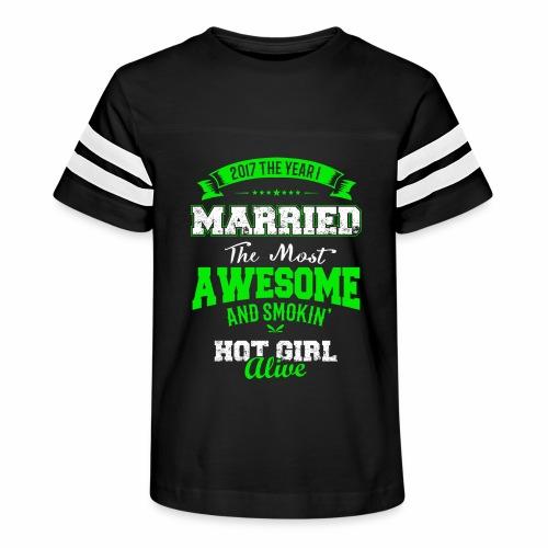 Married Husband - Kid's Vintage Sport T-Shirt