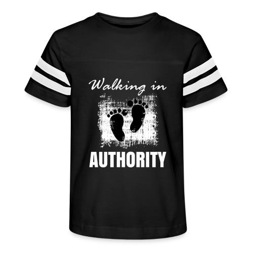 Walking in authority - Kid's Vintage Sport T-Shirt