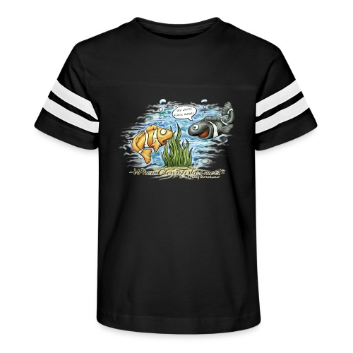 when clownfishes meet - Kid's Vintage Sport T-Shirt