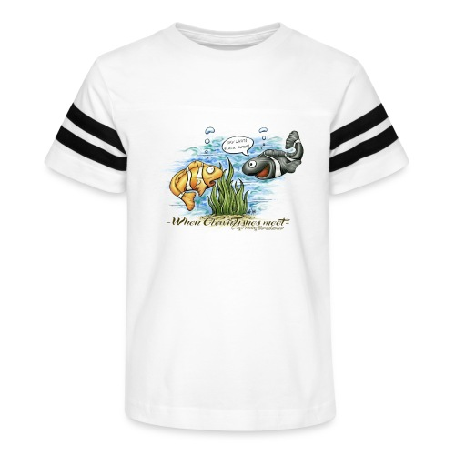 when clownfishes meet - Kid's Vintage Sport T-Shirt