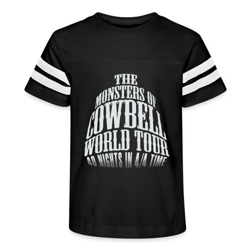 monstersofcowbellfront - Kid's Vintage Sport T-Shirt