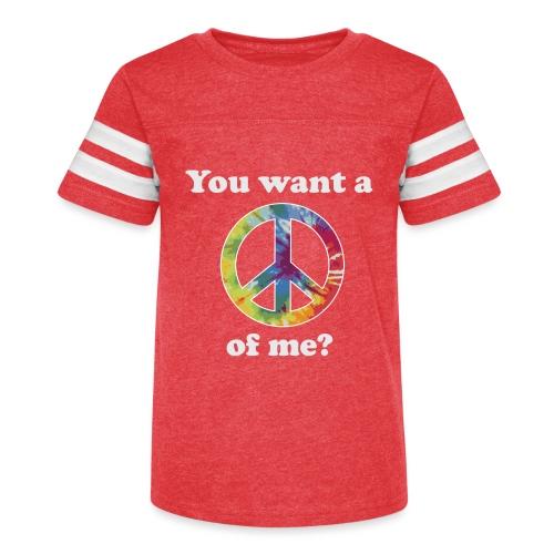 Peace of Me Tee - Kid's Vintage Sport T-Shirt