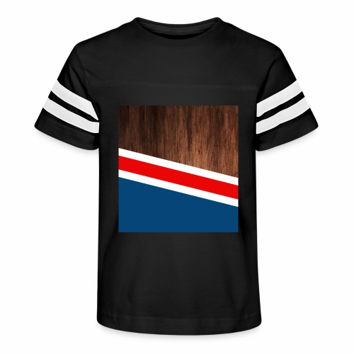 Wooden stripes - Kid's Vintage Sport T-Shirt