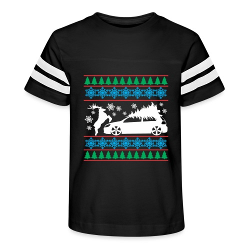 MK6 GTI Ugly Christmas Sweater - Kid's Vintage Sport T-Shirt