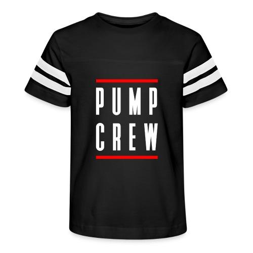 Pump Crew - Kid's Vintage Sport T-Shirt