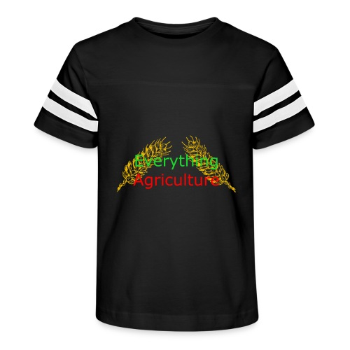 Everything Agriculture LOGO - Kid's Vintage Sport T-Shirt