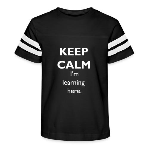 Keep Calm - Kid's Vintage Sport T-Shirt