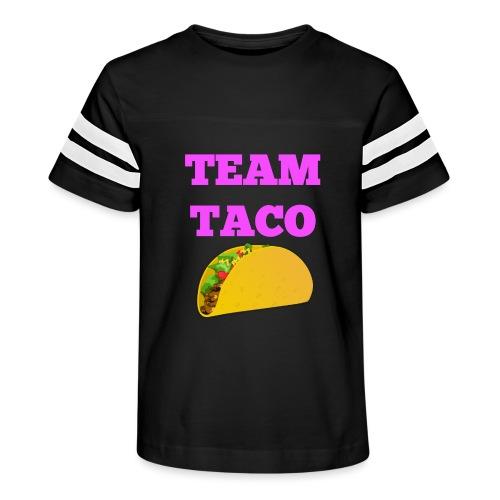 TEAMTACO - Kid's Vintage Sport T-Shirt