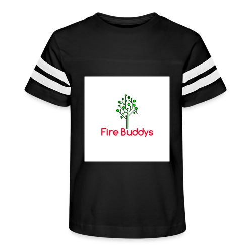 Fire Buddys Website Logo White Tee-shirt eco - Kid's Vintage Sport T-Shirt