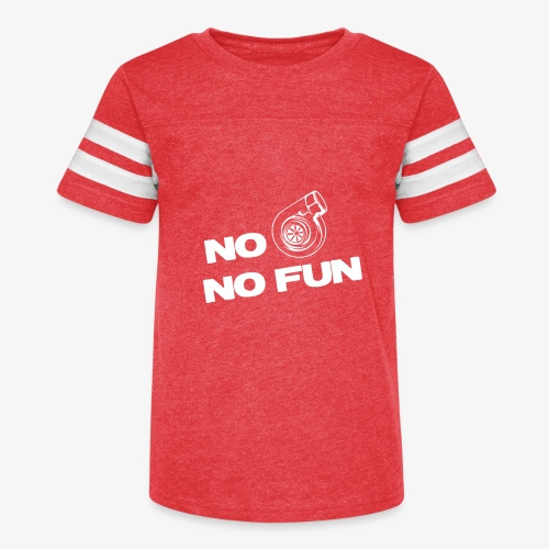 No turbo no fun - Kid's Vintage Sport T-Shirt
